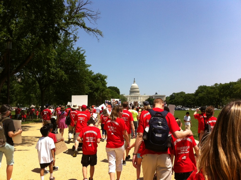 Photo from STUCK March on Mall