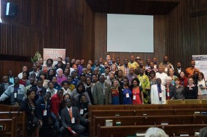 African Orphan Sunday Coordinators at the Southern Africa Orphan Summit 2014